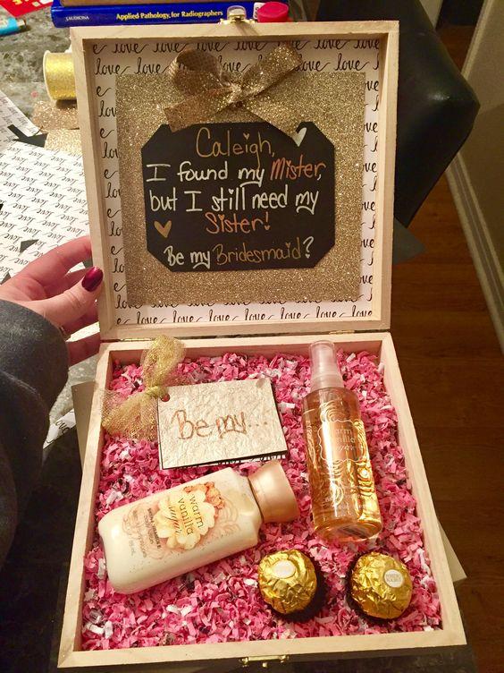 Bridesmaid Proposal Sister