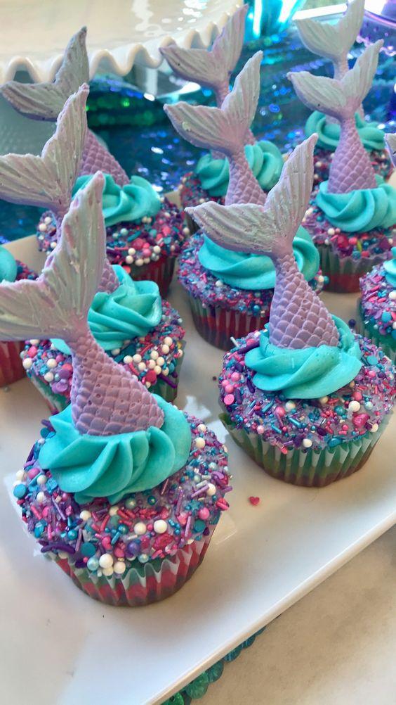 Sprinkles Mix Cupcakes