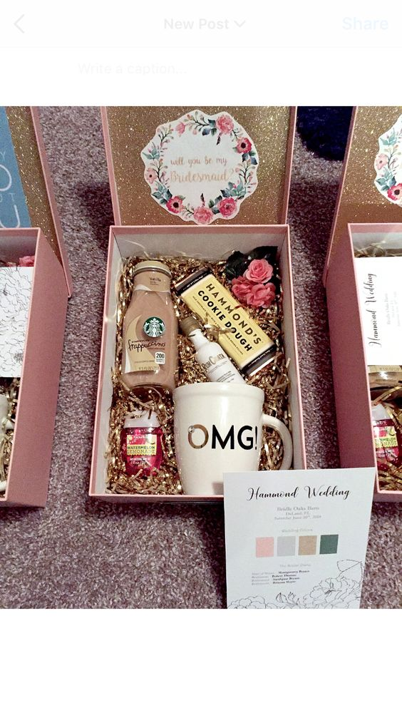 Bridesmaid Proposal Box
