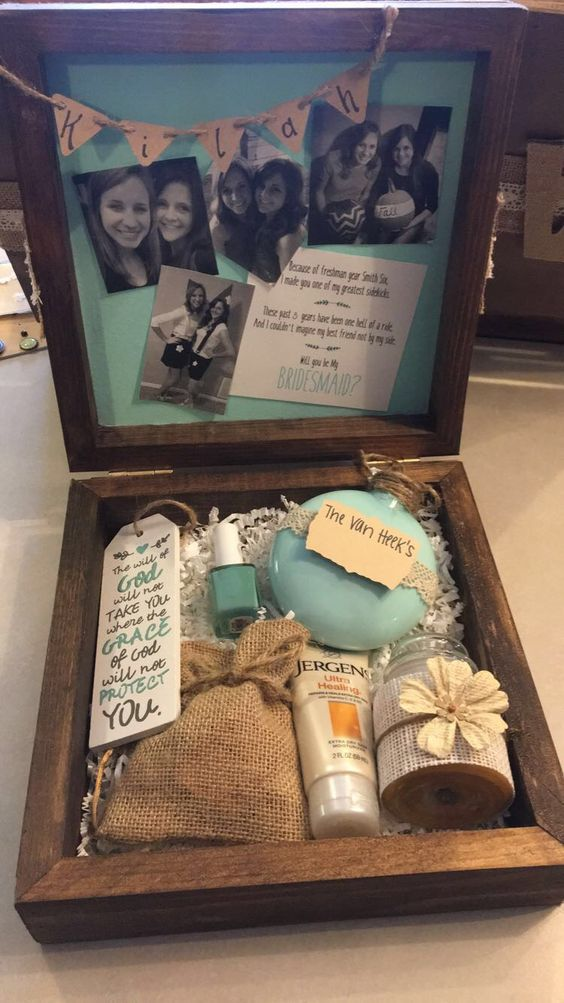 Rustic Bridesmaid Box