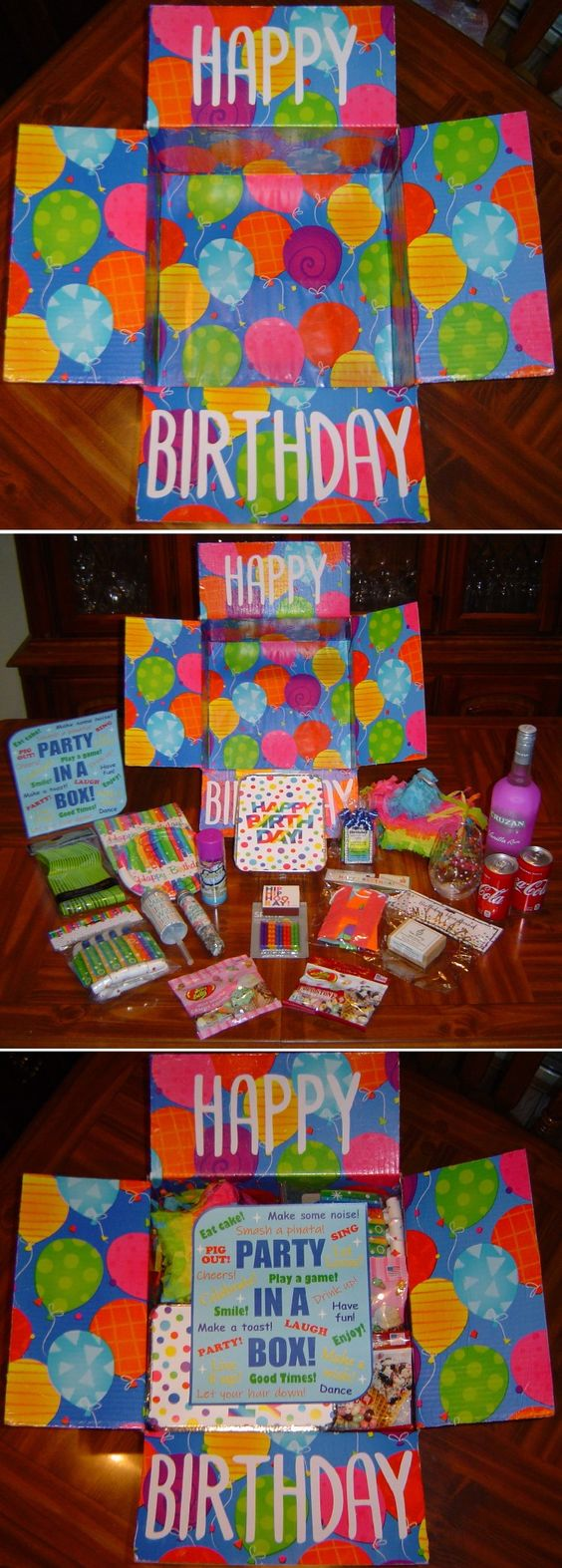 Birthday Care Package