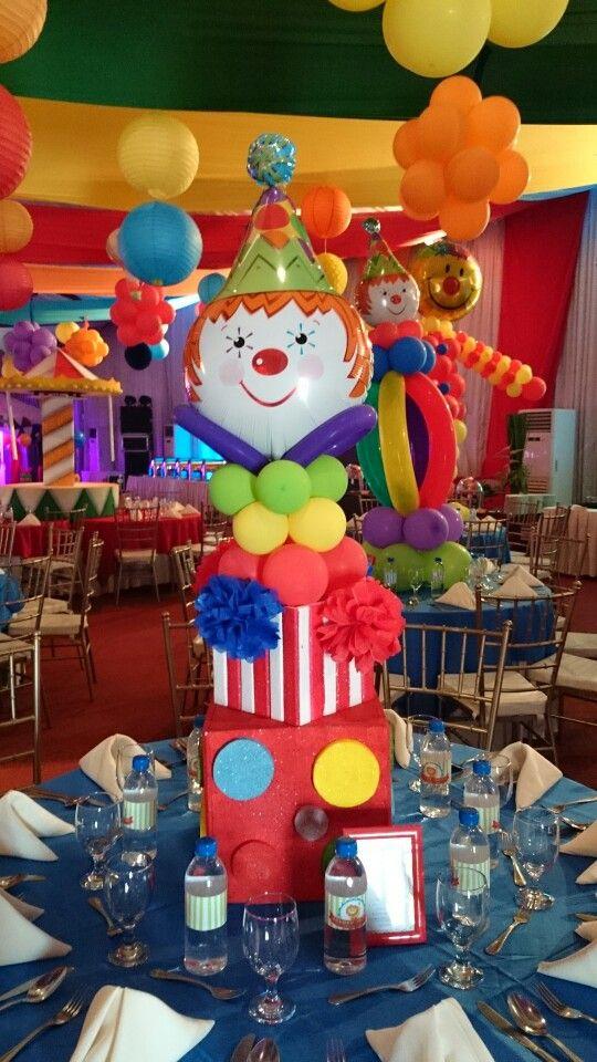 Circus Centerpiece