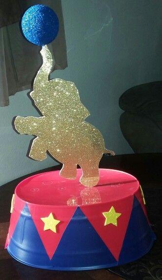 Circus Birthday Party Ideas Kids - Circus Centerpiece