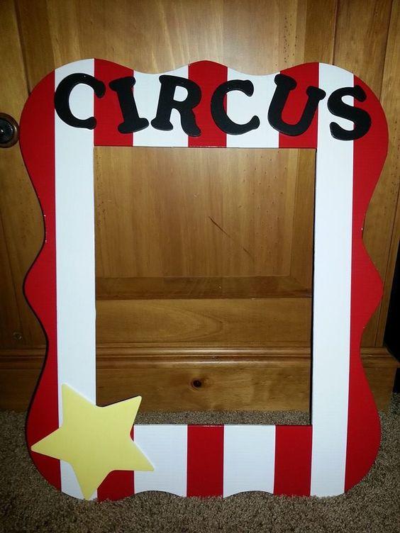 Circus Birthday Party Ideas Kids - Circus Frame