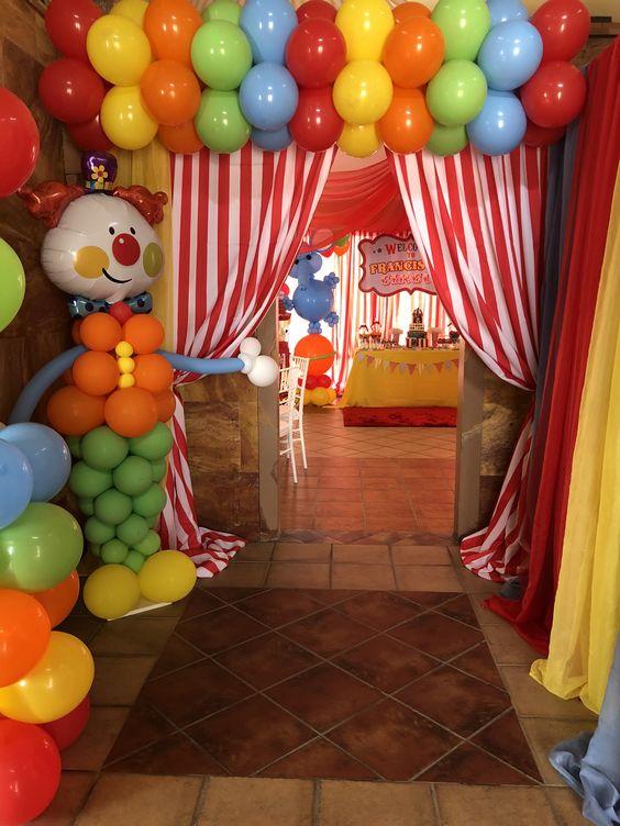 Circus Birthday Party Ideas Kids