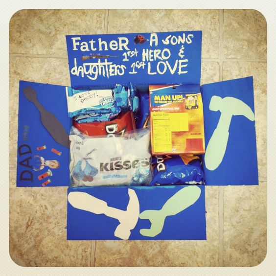 Fathers Day Care Package Ideas