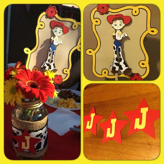 Jessie from Toy Story centerpiece