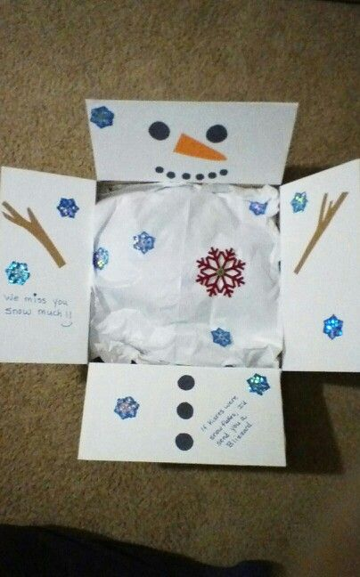 Snowman Care Package
