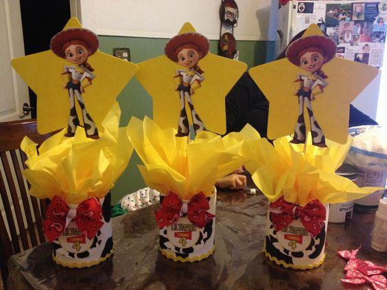 Toy Story Jessie Centerpieces