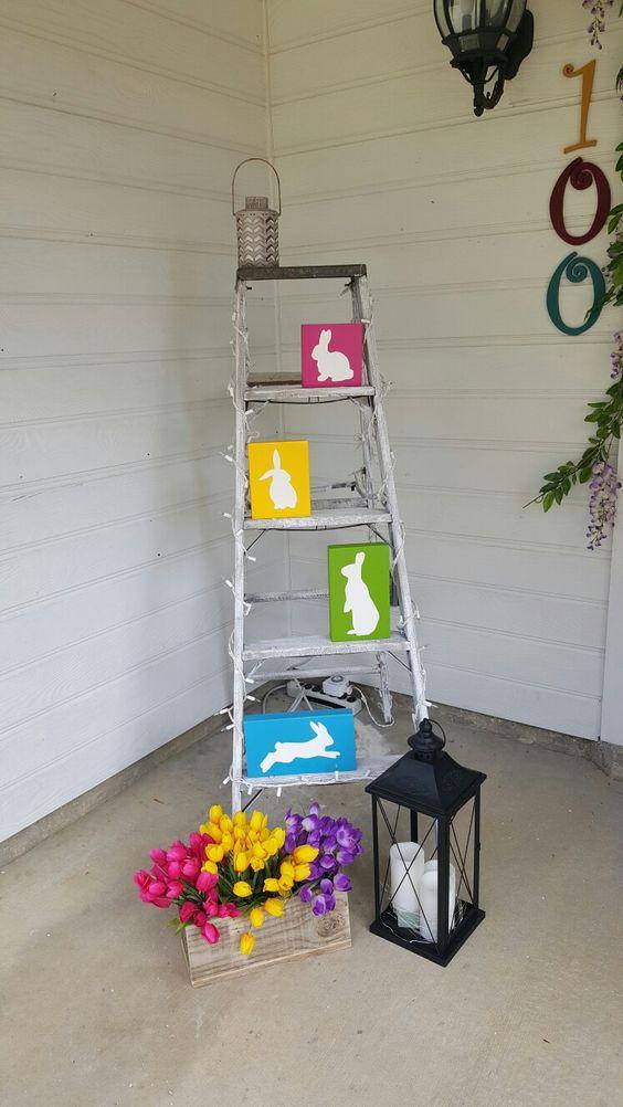 Easter Porch Decor