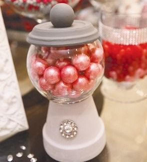 How to Make a Christmas Gumball Machine #christmascrafts