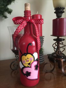 valentines wine bottle crafts