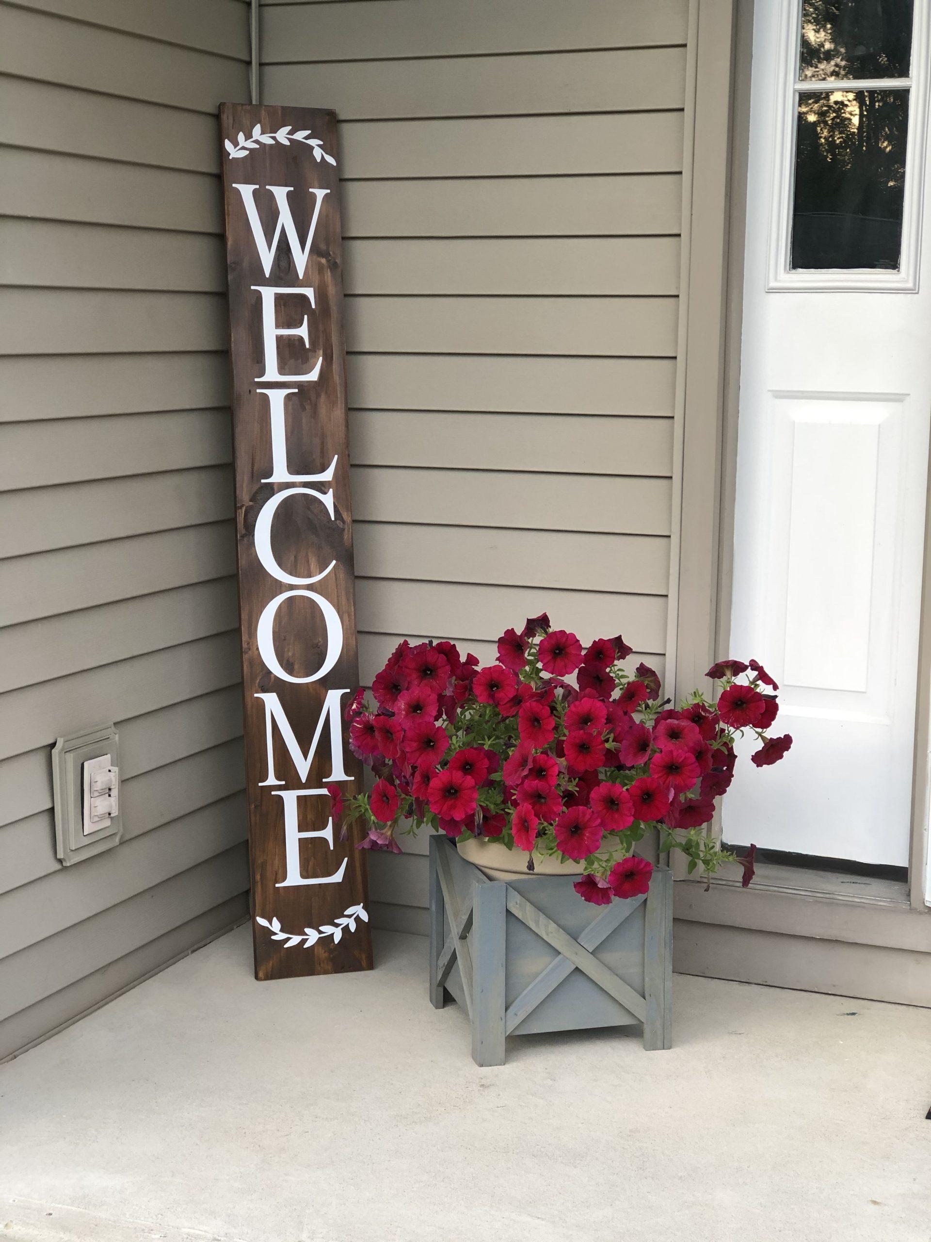 Valentines Porch Sign Ideas