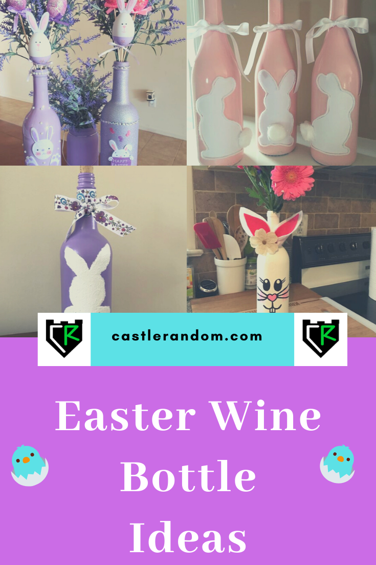 Easter Wine Bottle Crafts