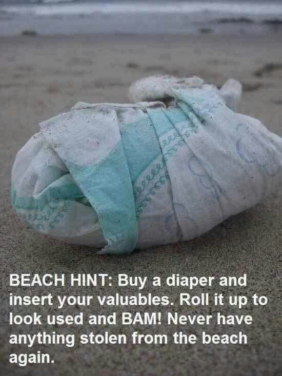 Beach Hacks Tips and Tricks