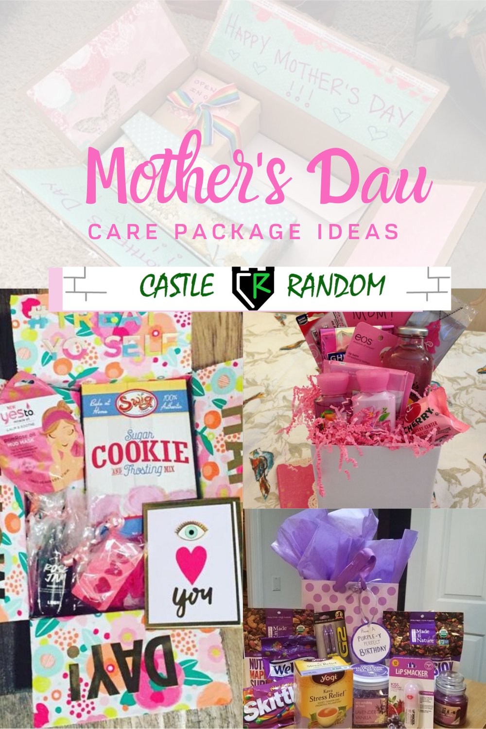 Mothers Day Care Package Ideas