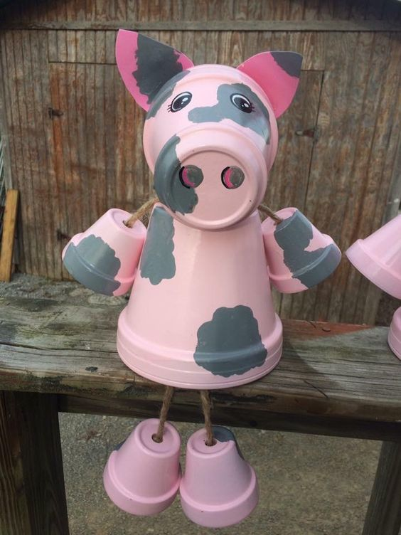 Summer Clay Pot Crafts