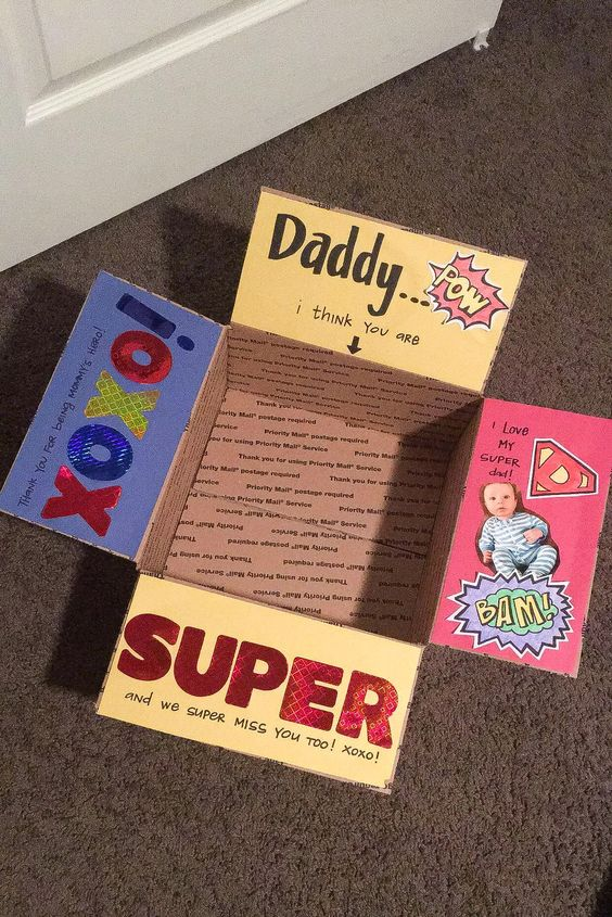 Fathers Day Care Package
