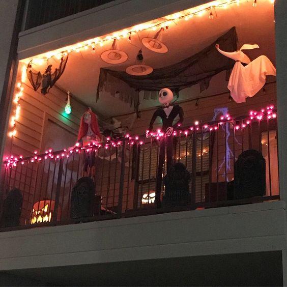 Halloween Apartment Decor