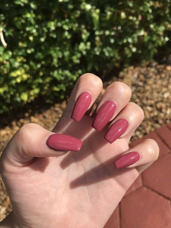 Fall Coffin Nails