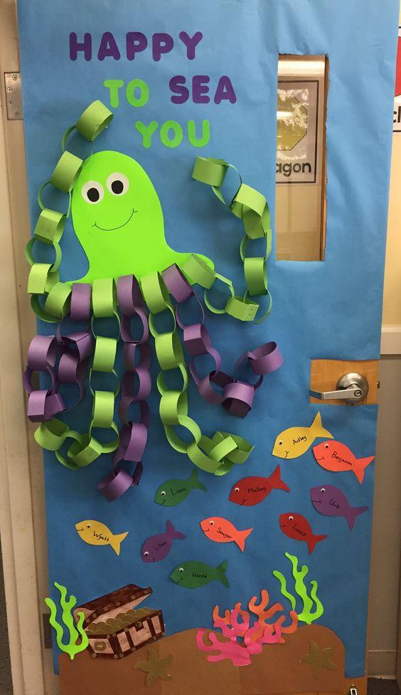 Halloween Classroom Door Ideas