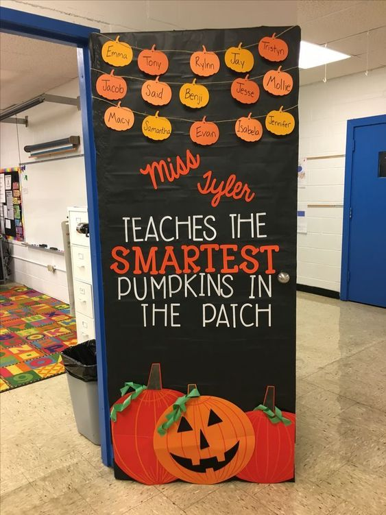 Halloween Classroom Door Ideas
