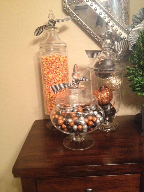 Halloween Apothecary Jars