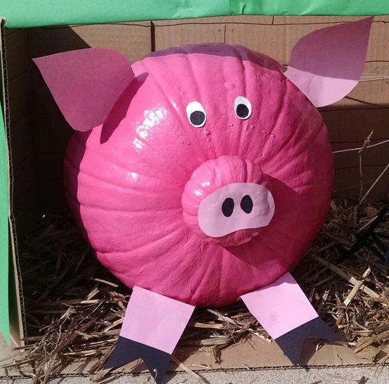 Pumpkin Pig Ideas