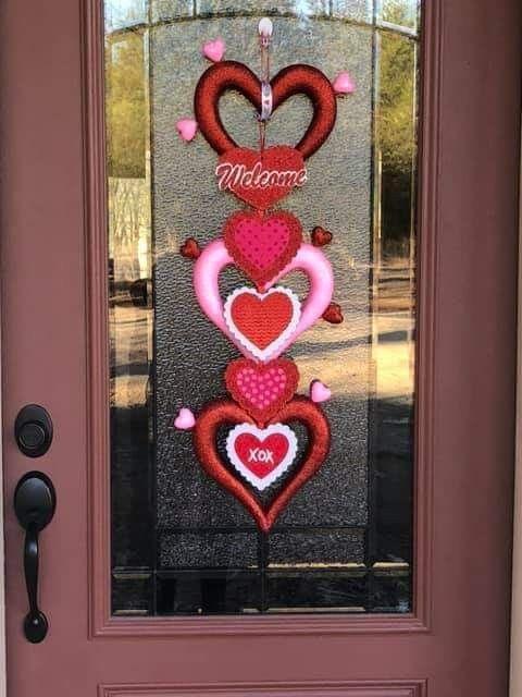Dollar Store Valentines Decor