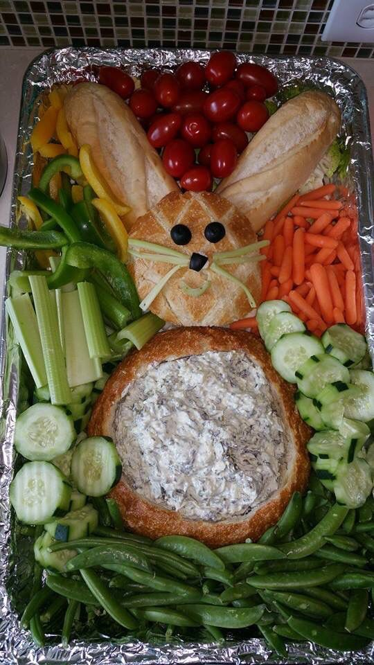 Party Food Ideas - Veggie Tray