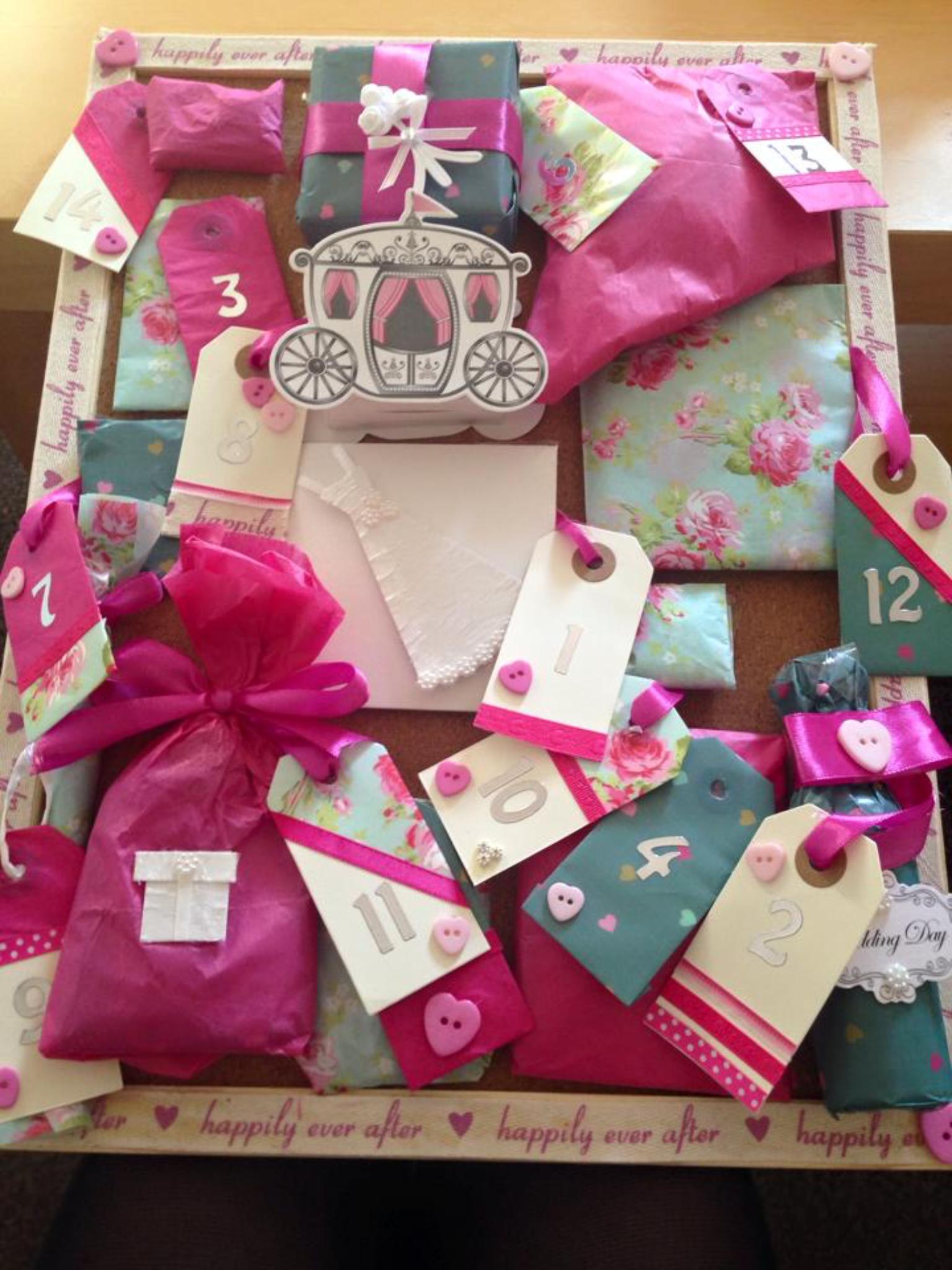 Wedding Advent Calendar Gifts