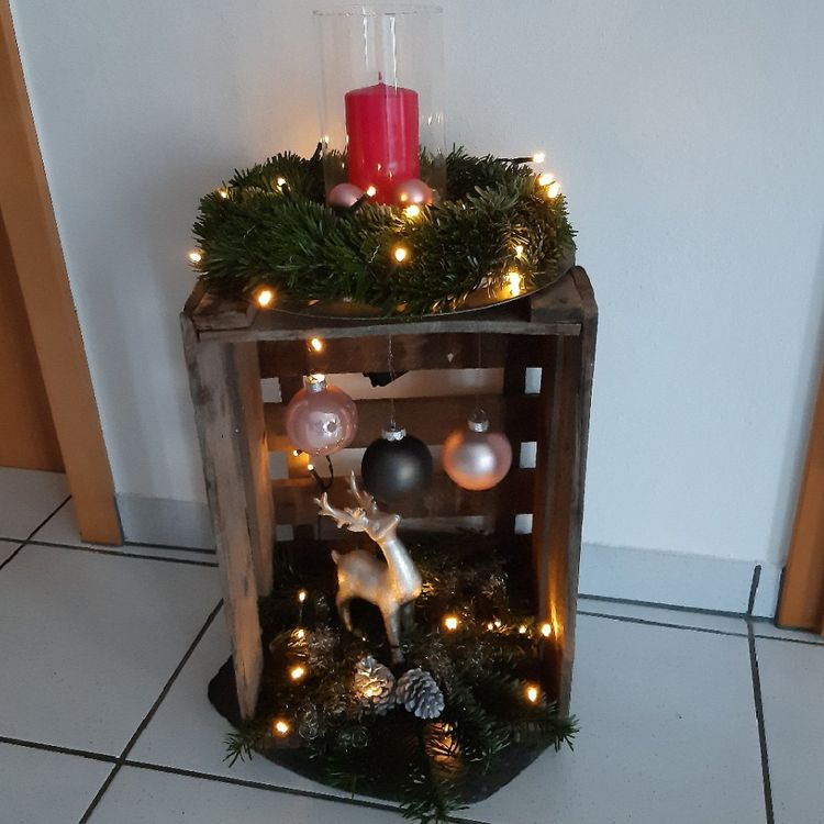 Christmas Crate Ideas